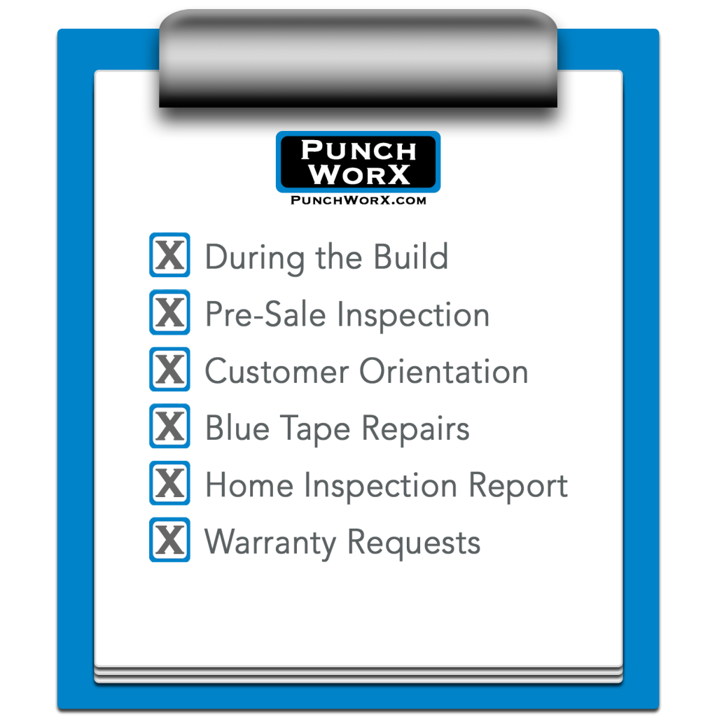 Punch List 5